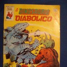 Cómics: EL DINOSAURIO DIABOLICO Nº 2 VERTICE. Lote 176158222