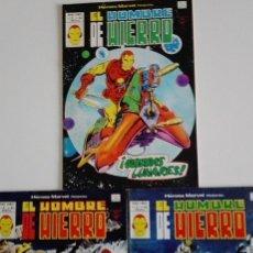 Cómics: HOMBRE DE HIERRO (IRON MAN) MUNDICOMICS Nº 64, 65 Y 66 VOL 2 1.980 MARVEL 1.978 . Lote 176169444