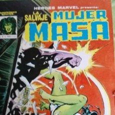 Cómics: MUJER MASA (HULKA, SHEHULK) MUNDICOMICS VÉRTICE Nº 4 - 1.982 . Lote 176171617