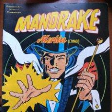 Cómics: MANDRAKE NUM. 1 COMICS ART - VÉRTICE. Lote 176316872