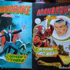 Cómics: MANDRAKE VÉRTICE COMICS ART Nº 5 Y 6 . Lote 176317442