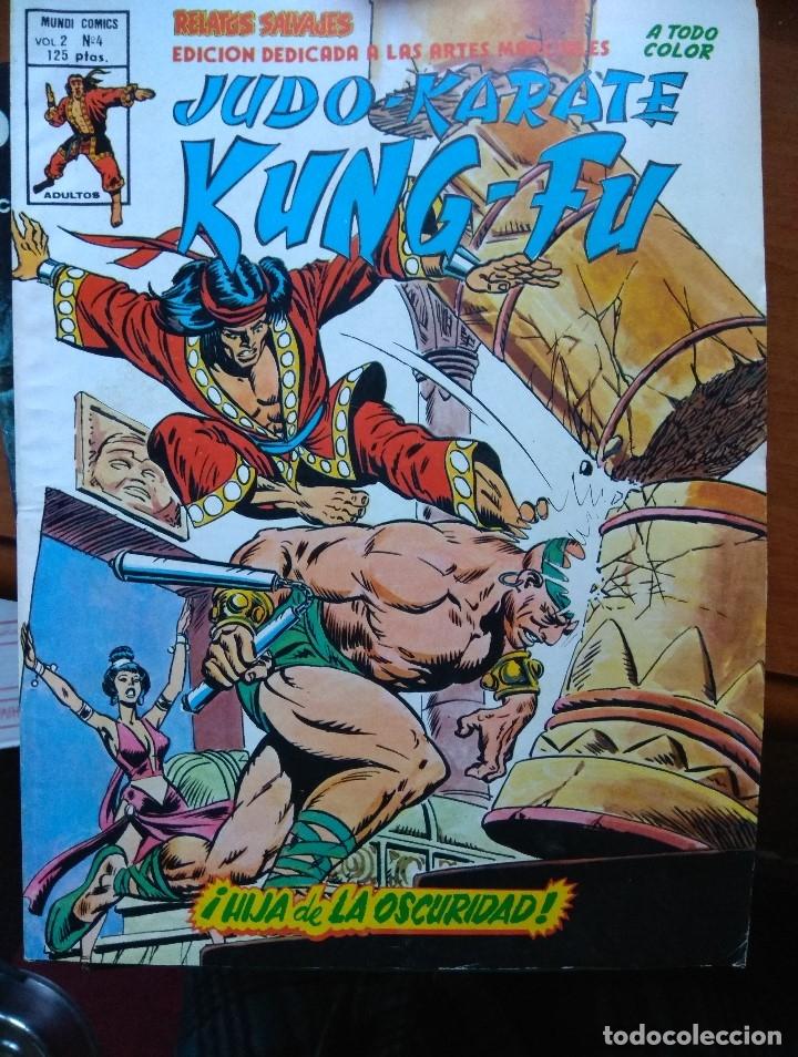 RELATOS SALVAJES - JUDO, KARATE, KUNG-FU VOL. 2 Nº 4 (Tebeos y Comics - Vértice - Relatos Salvajes)