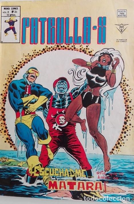 PATRULLA X MUNDICOMICS V3 Nº 34 (Tebeos y Comics - Vértice - V.3)