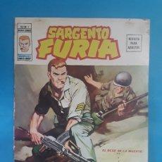 Cómics: SARGENTO FURIA V0L 2 N1 VÉRTICE . Lote 176351994