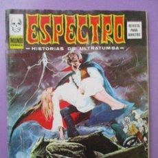Cómics: ESPECTRO 38, ESPECTROS, VERTICE ¡¡¡¡¡¡BUEN ESTADO Y DIFICIL!!!! VER FOTOS. Lote 176384740