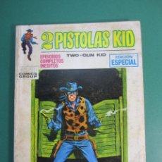 Comics: 2 PISTOLAS KID (1971, VERTICE) 9 · 1971 · RATAS DE RIO. Lote 176387659
