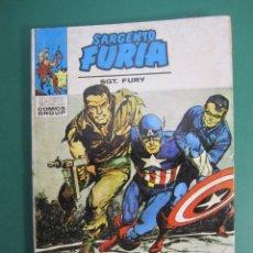 Comics: SARGENTO FURIA (1972, VERTICE) 7 · 1972 · EL ESCUADRÓN MORTAL DEL BARON STRUCKER. Lote 176388160