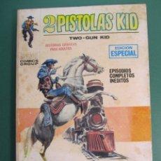 Cómics: 2 PISTOLAS KID (1971, VERTICE) 8 · 1971 · TREN HACIA LA MUERTE. Lote 176389293