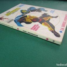 Cómics: DAREDEVIL (1969, VERTICE) -DAN DEFENSOR- 15 · 1969 · LA CARCEL VIVIENTE. Lote 176389963