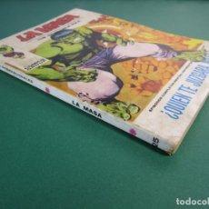 Cómics: HULK (1970, VERTICE) -LA MASA- 25 · 1972 · ¿QUIEN TE JUZGARA MASA?. Lote 176433994