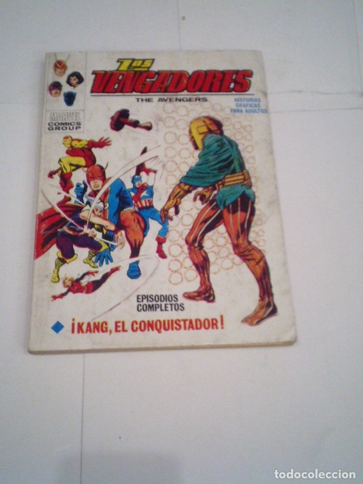 Cómics: LOS VENGADORES - VERTICE - VOLUMEN 1 - COLECCION COMPLETA - 52 NUMEROS - MUY BUEN ESTADO - GORBAUD - Foto 22 - 176450777