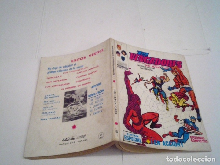Cómics: LOS VENGADORES - VERTICE - VOLUMEN 1 - COLECCION COMPLETA - 52 NUMEROS - MUY BUEN ESTADO - GORBAUD - Foto 31 - 176450777