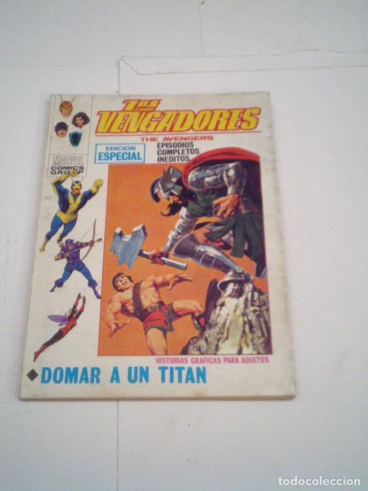 Cómics: LOS VENGADORES - VERTICE - VOLUMEN 1 - COLECCION COMPLETA - 52 NUMEROS - MUY BUEN ESTADO - GORBAUD - Foto 124 - 176450777