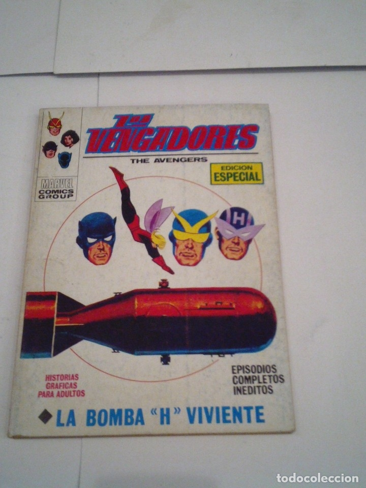 Cómics: LOS VENGADORES - VERTICE - VOLUMEN 1 - COLECCION COMPLETA - 52 NUMEROS - MUY BUEN ESTADO - GORBAUD - Foto 136 - 176450777