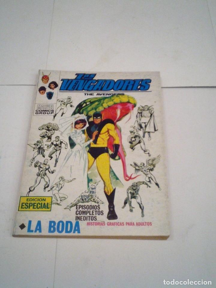 Cómics: LOS VENGADORES - VERTICE - VOLUMEN 1 - COLECCION COMPLETA - 52 NUMEROS - MUY BUEN ESTADO - GORBAUD - Foto 148 - 176450777