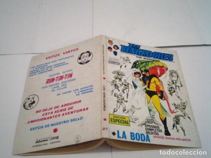 Cómics: LOS VENGADORES - VERTICE - VOLUMEN 1 - COLECCION COMPLETA - 52 NUMEROS - MUY BUEN ESTADO - GORBAUD - Foto 152 - 176450777
