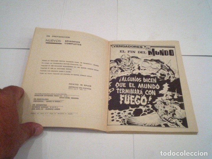 Cómics: LOS VENGADORES - VERTICE - VOLUMEN 1 - COLECCION COMPLETA - 52 NUMEROS - MUY BUEN ESTADO - GORBAUD - Foto 155 - 176450777