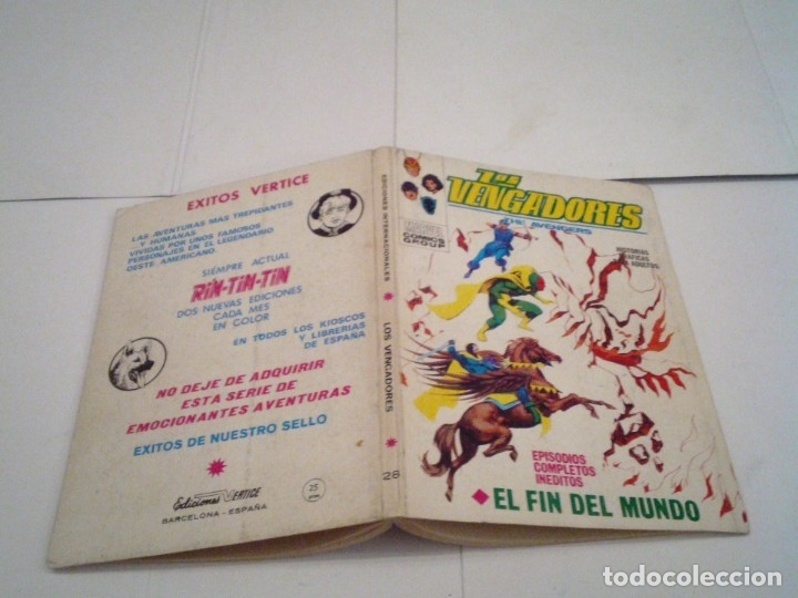 Cómics: LOS VENGADORES - VERTICE - VOLUMEN 1 - COLECCION COMPLETA - 52 NUMEROS - MUY BUEN ESTADO - GORBAUD - Foto 158 - 176450777