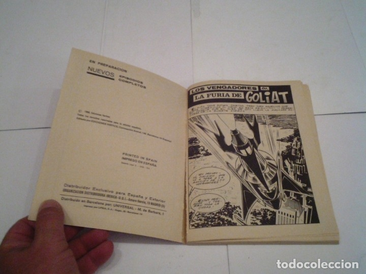 Cómics: LOS VENGADORES - VERTICE - VOLUMEN 1 - COLECCION COMPLETA - 52 NUMEROS - MUY BUEN ESTADO - GORBAUD - Foto 161 - 176450777