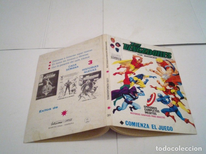 Cómics: LOS VENGADORES - VERTICE - VOLUMEN 1 - COLECCION COMPLETA - 52 NUMEROS - MUY BUEN ESTADO - GORBAUD - Foto 174 - 176450777