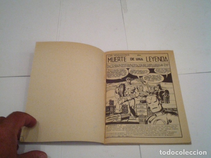 Cómics: LOS VENGADORES - VERTICE - VOLUMEN 1 - COLECCION COMPLETA - 52 NUMEROS - MUY BUEN ESTADO - GORBAUD - Foto 204 - 176450777