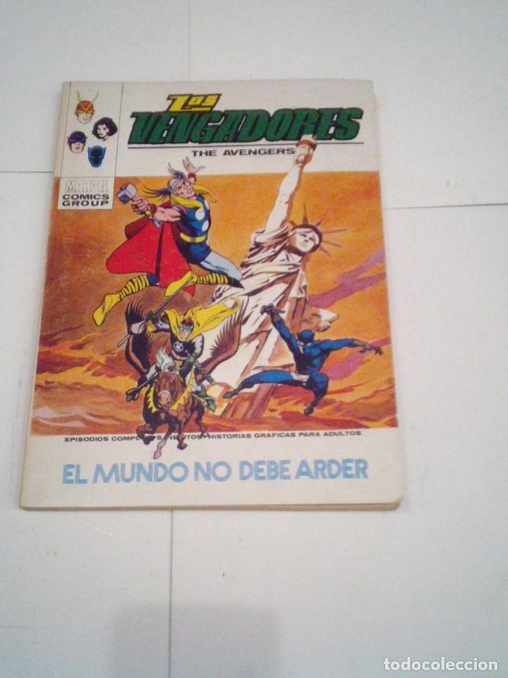 Cómics: LOS VENGADORES - VERTICE - VOLUMEN 1 - COLECCION COMPLETA - 52 NUMEROS - MUY BUEN ESTADO - GORBAUD - Foto 213 - 176450777