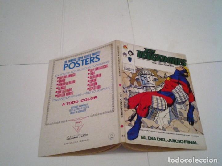 Cómics: LOS VENGADORES - VERTICE - VOLUMEN 1 - COLECCION COMPLETA - 52 NUMEROS - MUY BUEN ESTADO - GORBAUD - Foto 225 - 176450777