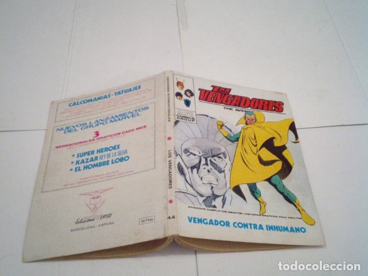 Cómics: LOS VENGADORES - VERTICE - VOLUMEN 1 - COLECCION COMPLETA - 52 NUMEROS - MUY BUEN ESTADO - GORBAUD - Foto 237 - 176450777