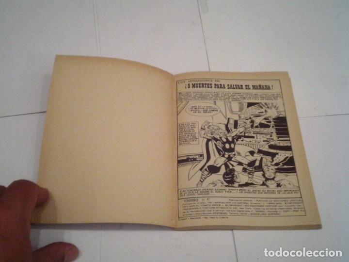 Cómics: LOS VENGADORES - VERTICE - VOLUMEN 1 - COLECCION COMPLETA - 52 NUMEROS - MUY BUEN ESTADO - GORBAUD - Foto 247 - 176450777