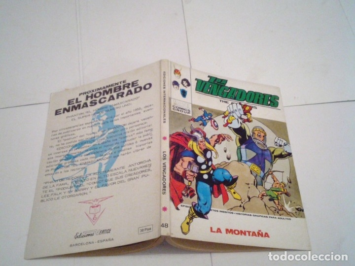 Cómics: LOS VENGADORES - VERTICE - VOLUMEN 1 - COLECCION COMPLETA - 52 NUMEROS - MUY BUEN ESTADO - GORBAUD - Foto 253 - 176450777