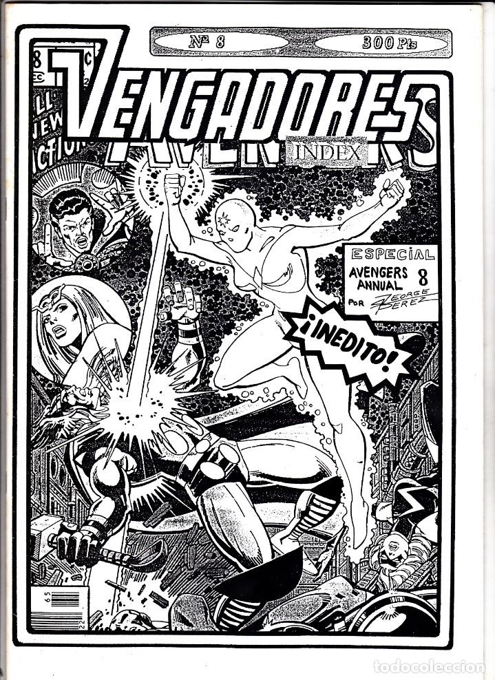 VENGADORES INDEX Nº 8 (Tebeos y Comics - Vértice - Vengadores)