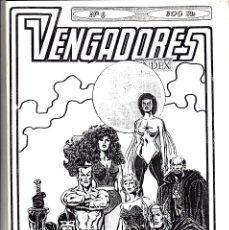 Cómics: VENGADORES INDEX Nº 6. Lote 176612342