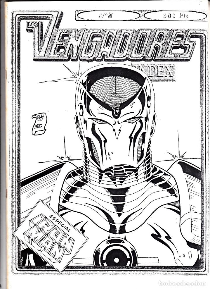 VENGADORES INDEX Nº 5 (Tebeos y Comics - Vértice - Vengadores)
