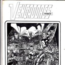 Cómics: VENGADORES INDEX Nº 2. Lote 176612365