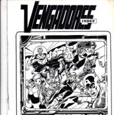 Cómics: VENGADORES INDEX Nº 1. Lote 176612368