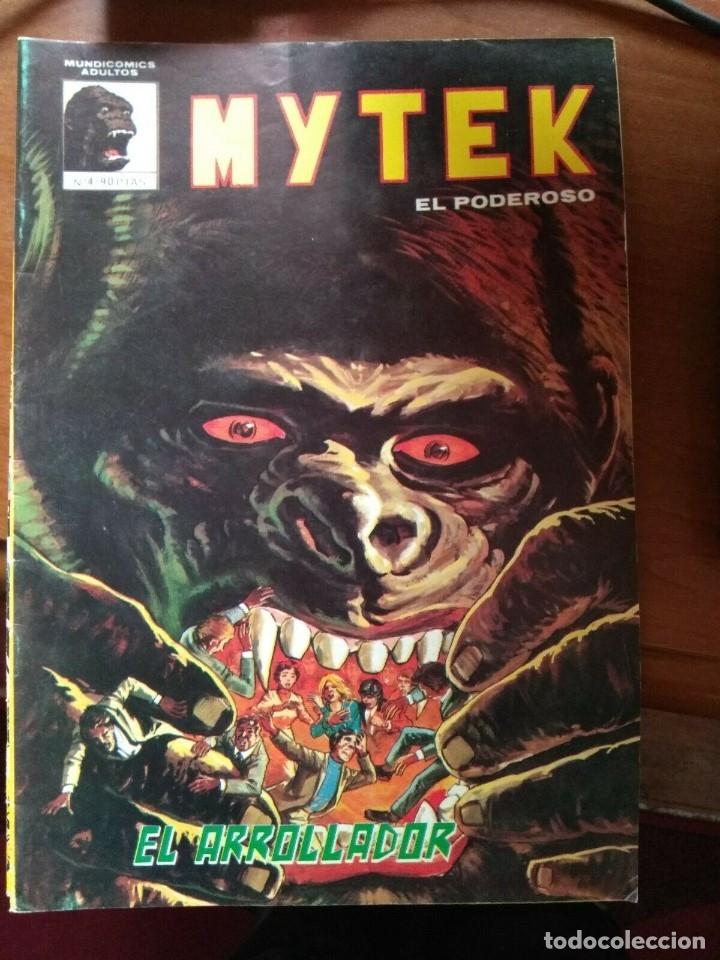 MYTEK EL PODEROSO Nº 4 - MUNDICOMICS VÉRTICE (Tebeos y Comics - Vértice - Surco / Mundi-Comic)