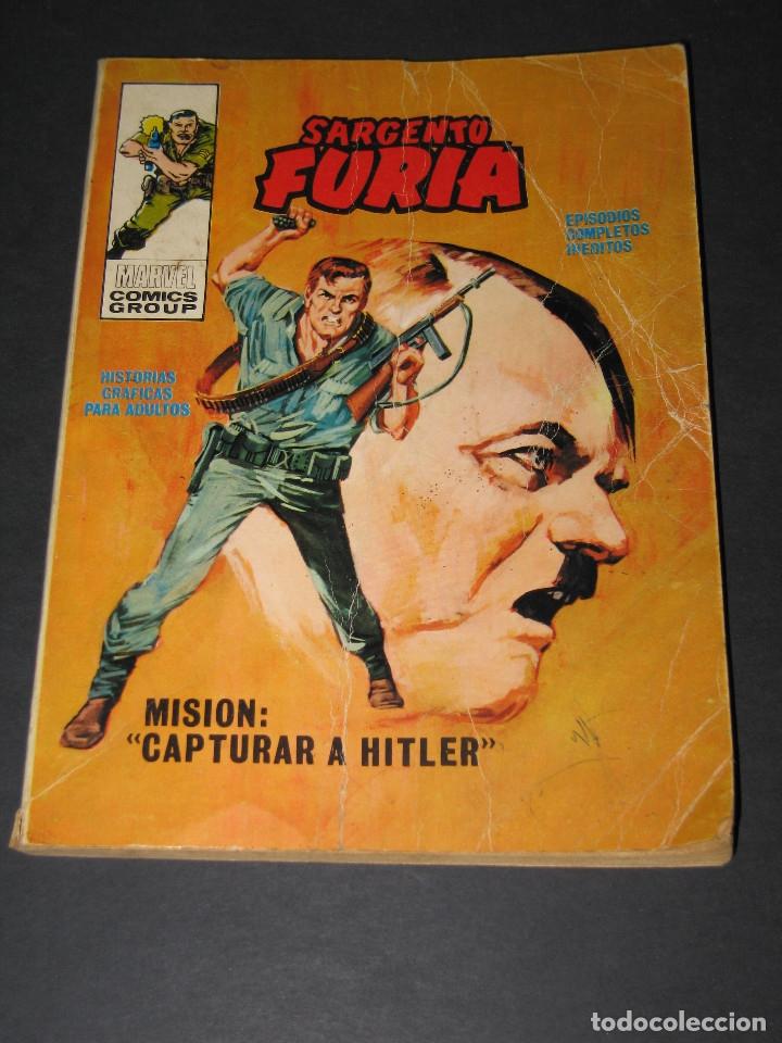 SARGENTO FURIA (SGT. NICK FURY)- NÚM. 5 MISIÓN CAPTURAR A HITLER - MARVEL COMICS - 1972 - ED.VÉRTICE (Tebeos y Comics - Vértice - Furia)