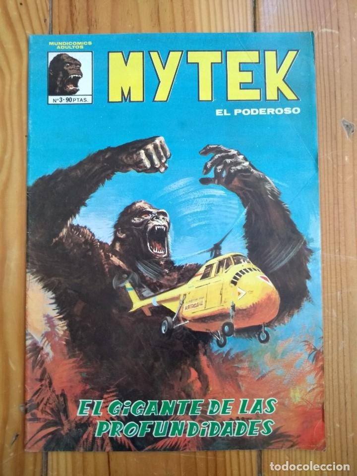 MYTEK EL PODEROSO Nº 3 - LÍNEA MUNDICOMICS - MUY BUEN ESTADO D5 (Tebeos y Comics - Vértice - Fleetway)