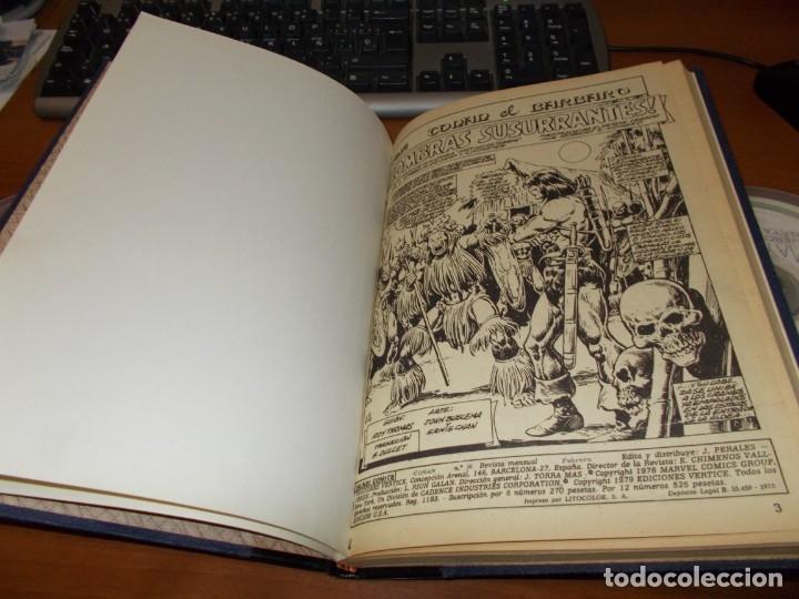 Cómics: CONAN - TOMO ENCUADERNADO NÚMEROS 36 AL 40 (VERTICE) - Foto 3 - 176843049