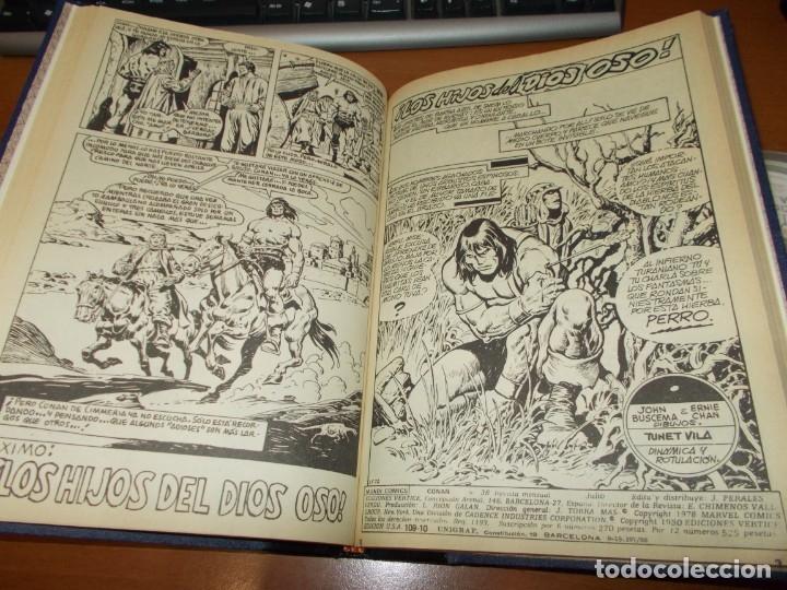 Cómics: CONAN - TOMO ENCUADERNADO NÚMEROS 36 AL 40 (VERTICE) - Foto 6 - 176843049