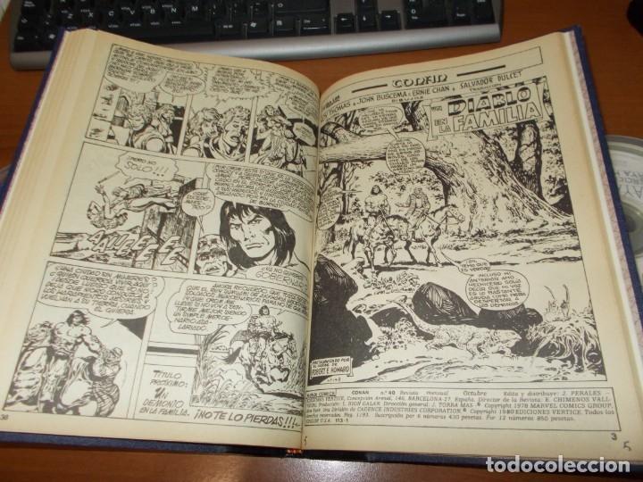 Cómics: CONAN - TOMO ENCUADERNADO NÚMEROS 36 AL 40 (VERTICE) - Foto 8 - 176843049