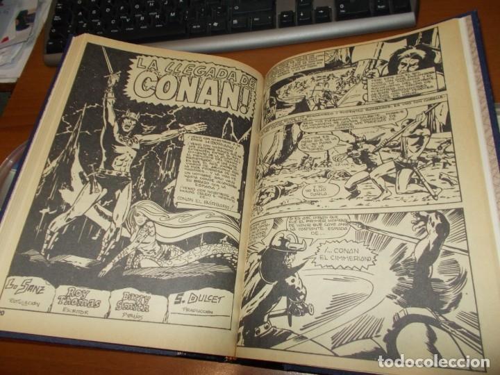 Cómics: CONAN - TOMO ENCUADERNADO NÚMEROS 36 AL 40 (VERTICE) - Foto 10 - 176843049