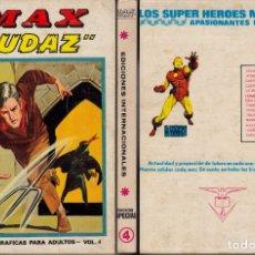 Cómics: VERTICE V1 MAX AUDAZ ESPECIAL 4. Lote 176860849