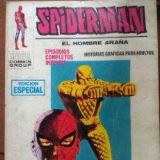 Cómics: SPIDERMAN Nº 18 VÉRTICE TACO- 126 PAGS. FALTA GALERÍA MARVEL. Lote 176883359