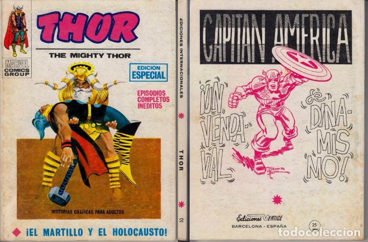 VERTICE V1 THOR 2 (Tebeos y Comics - Vértice - Thor)