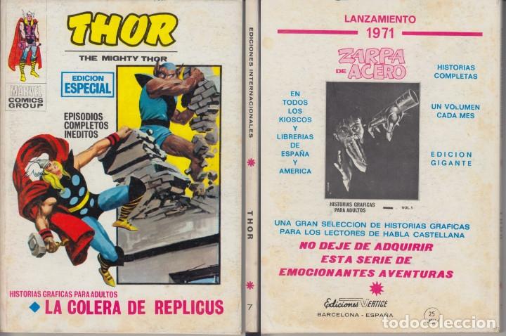 VERTICE V1 THOR 7 (Tebeos y Comics - Vértice - Thor)