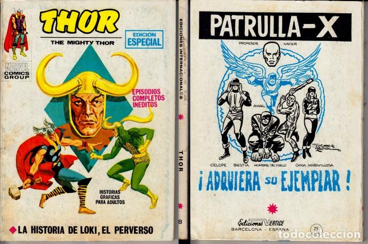 VERTICE V1 THOR 8 (Tebeos y Comics - Vértice - Thor)