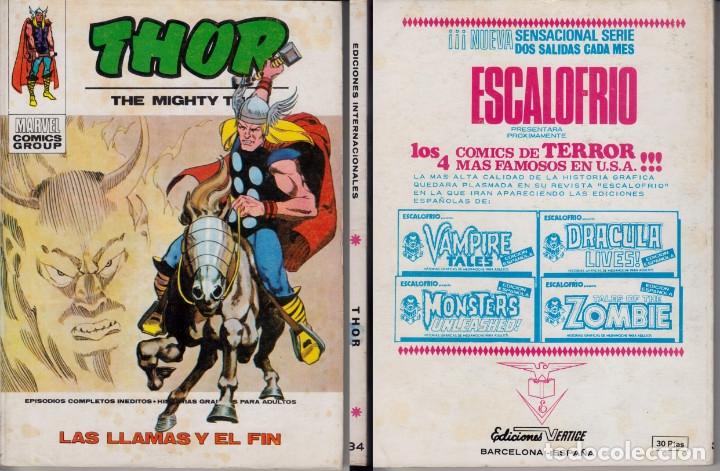 VERTICE V1 THOR 34 (Tebeos y Comics - Vértice - Thor)