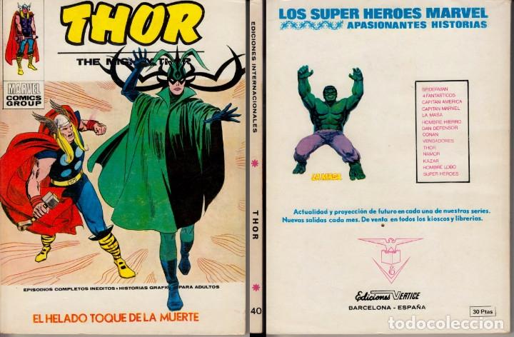 VERTICE V1 THOR 40 (Tebeos y Comics - Vértice - Thor)