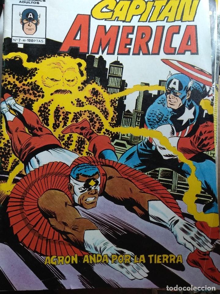 CAPITAN AMERICA Nº 7 - MUNDICOMICS (Tebeos y Comics - Vértice - Surco / Mundi-Comic)